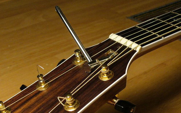 آموزش تنظیم اکشن گیتار از طریق جابجایی تراس راد