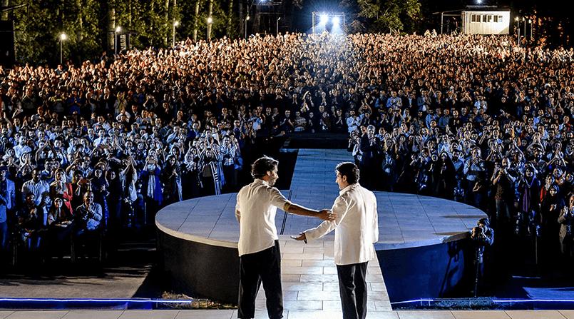 برگزاری کنسرت های خیابانی در شهر کیش