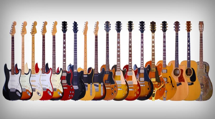 تنوع گیتار
